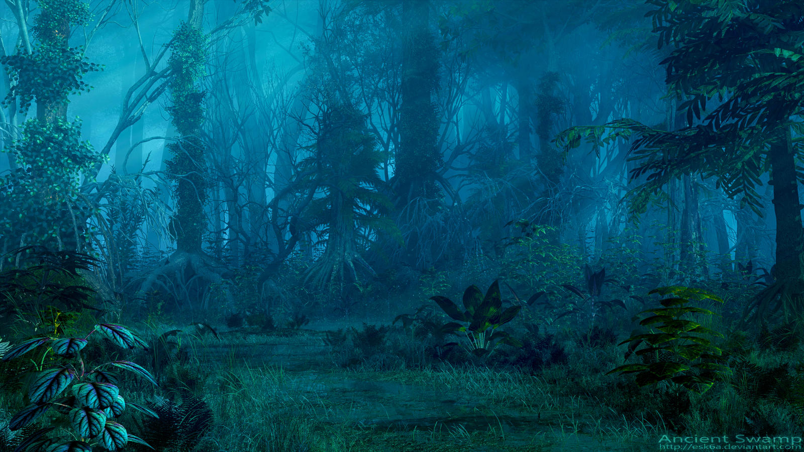 Ancient Swamp by esk6a