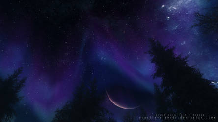 night sky by YouAllEverybody