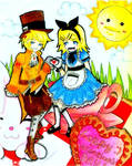 Vocaloid Valentine's-Rin Len