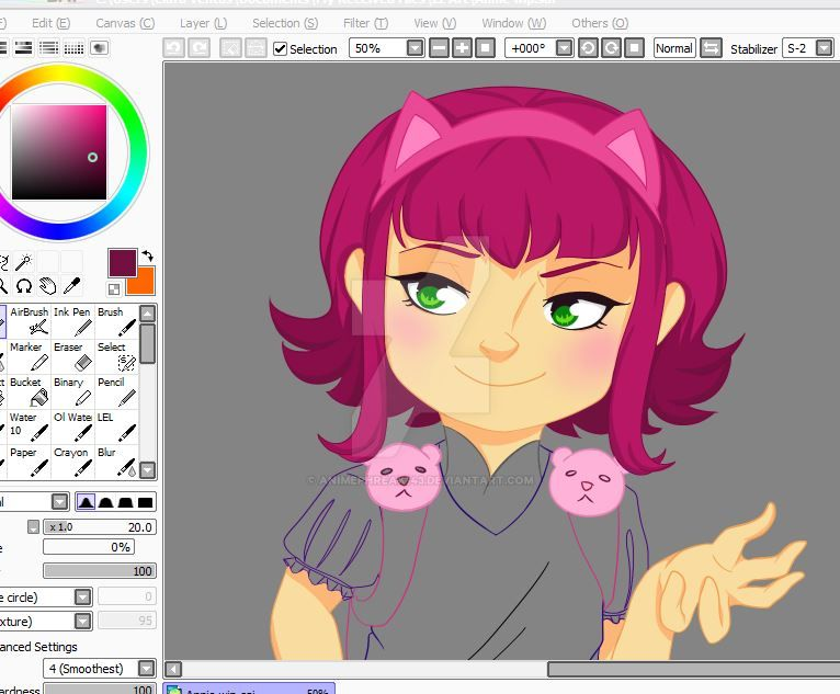 Annie WIP by animephreak143