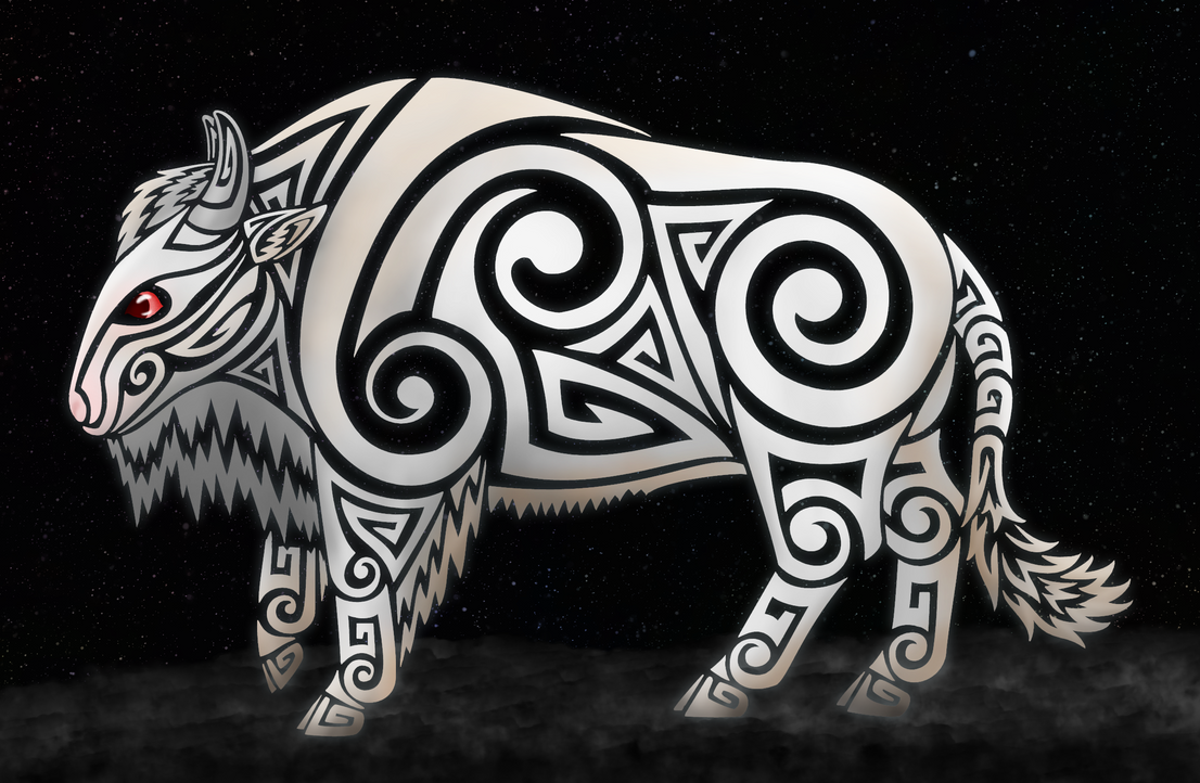 White Buffalo Spirit By Kayosa