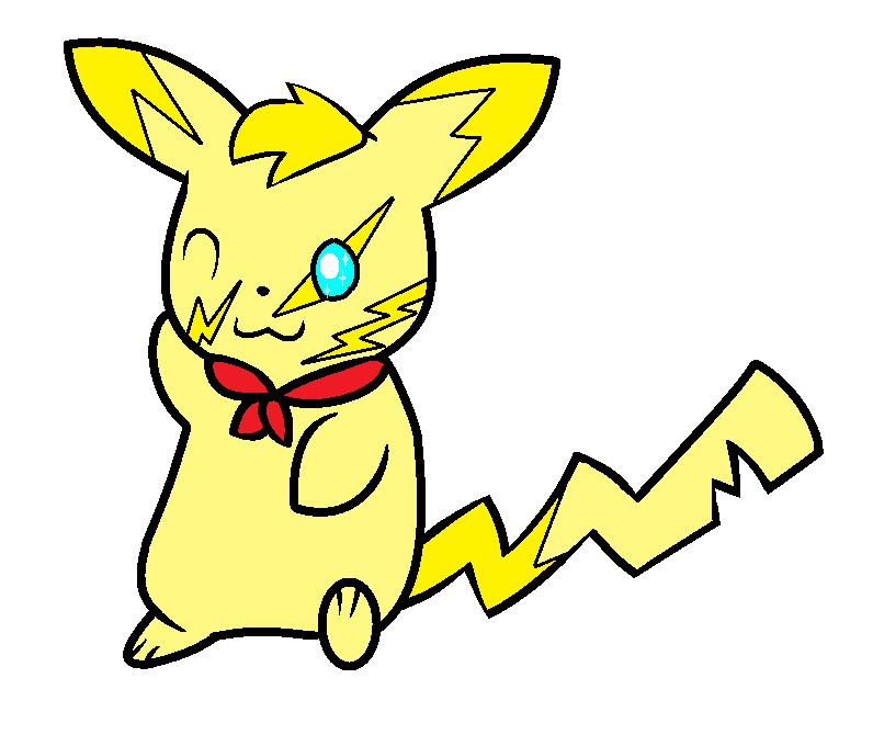Bolt (My Pikachu OC) by MathouBlossomChannel