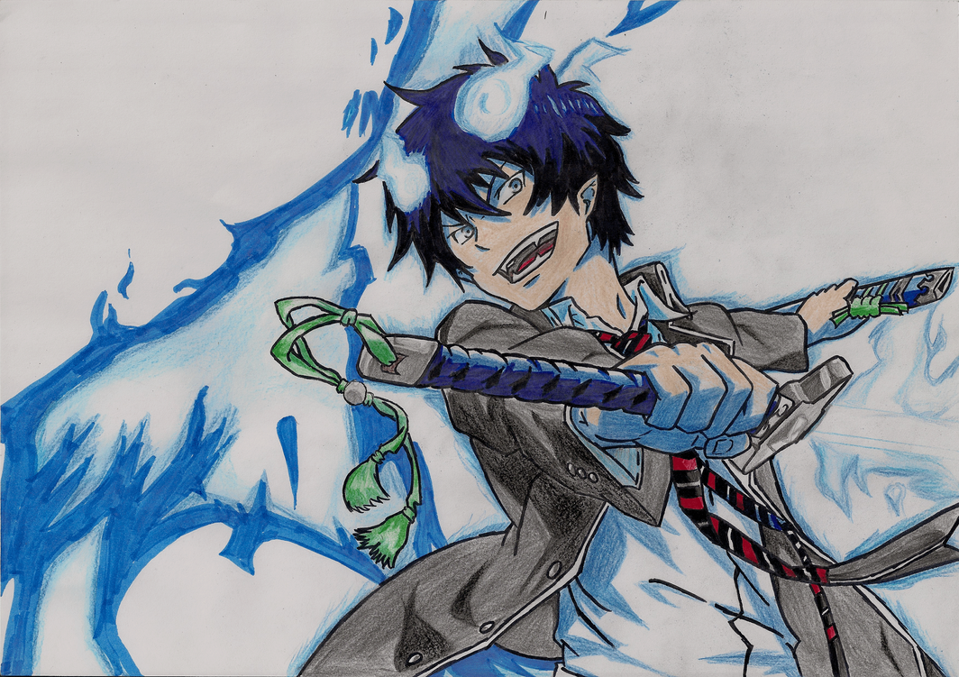 Drawings - Rin Okumura by ARazvan