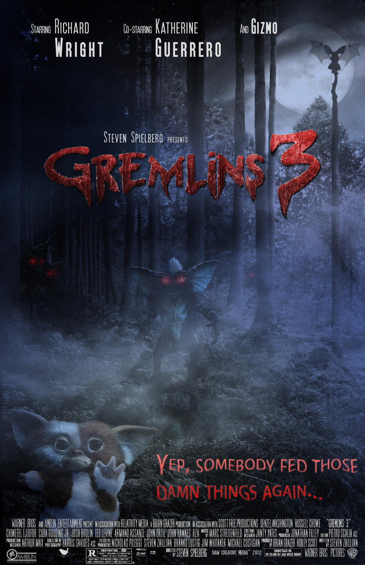 Gremlins 3 Poster by ArtmasterRich on DeviantArt