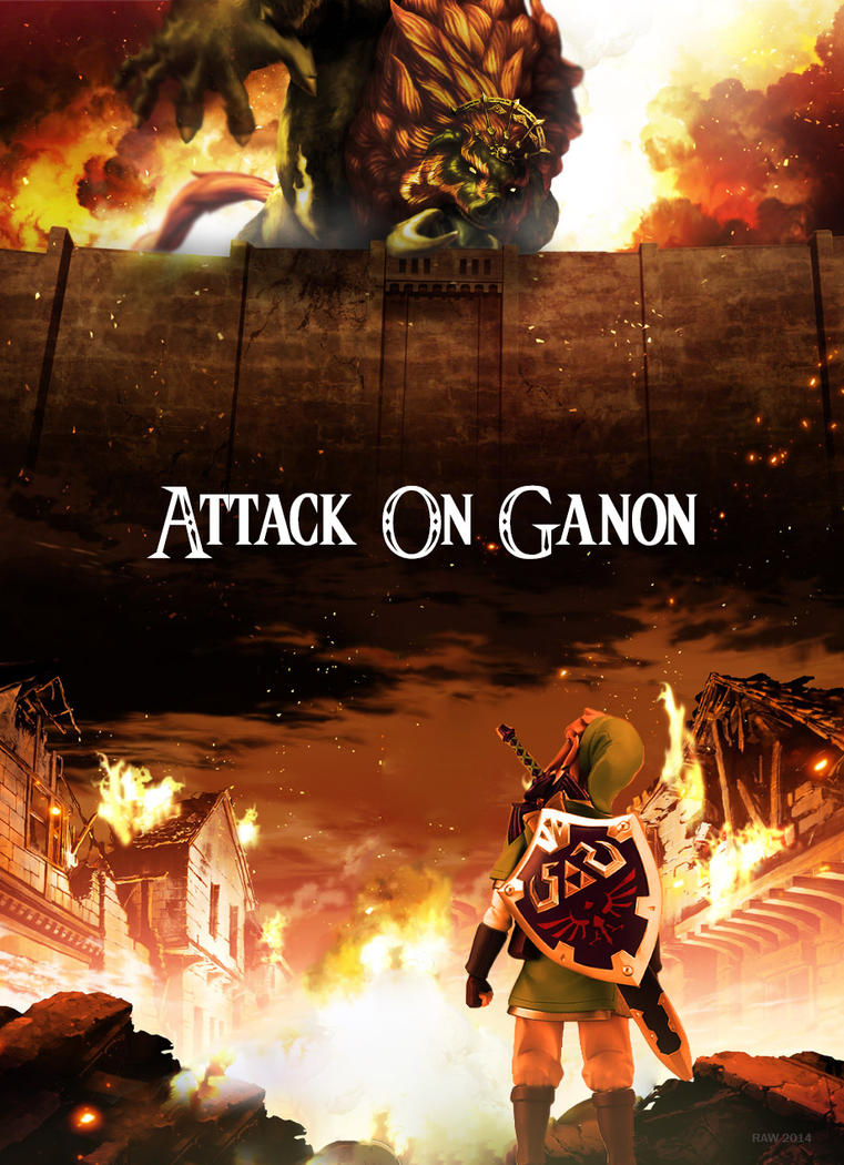 Attack On Ganon by ArtmasterRich