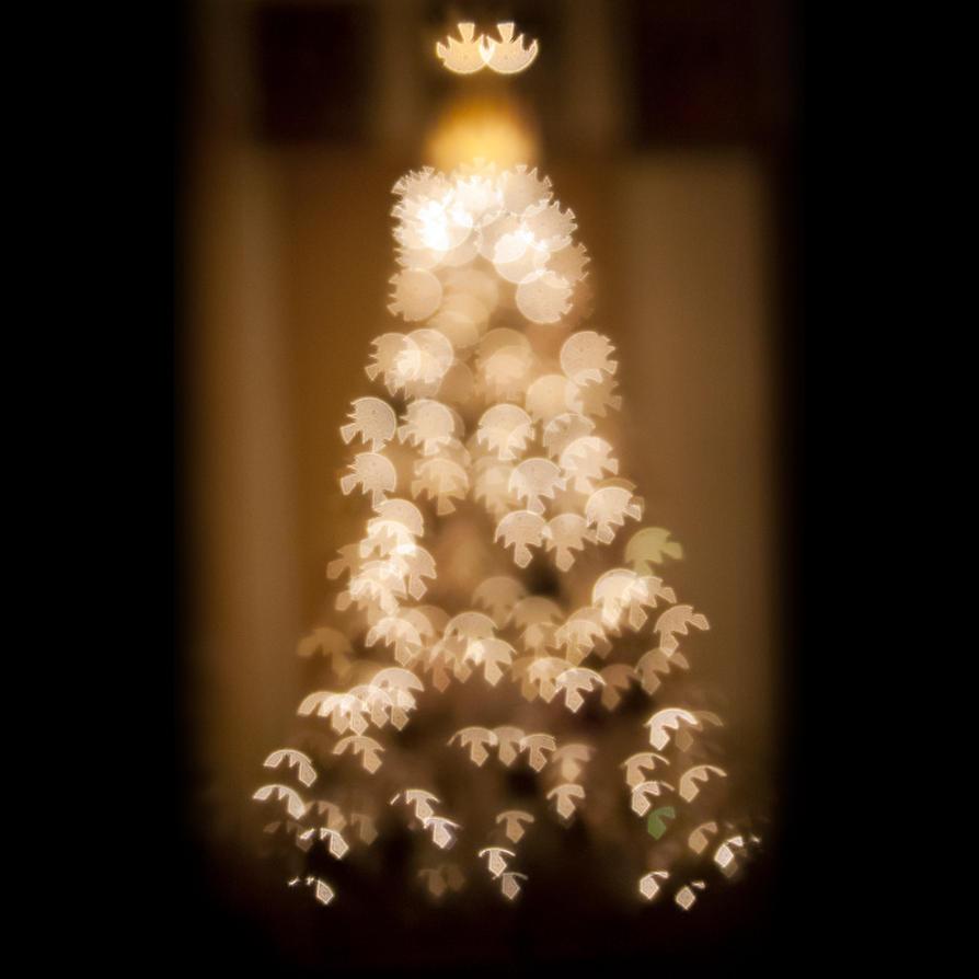 Christmas Tree of Bokeh by ArtmasterRich