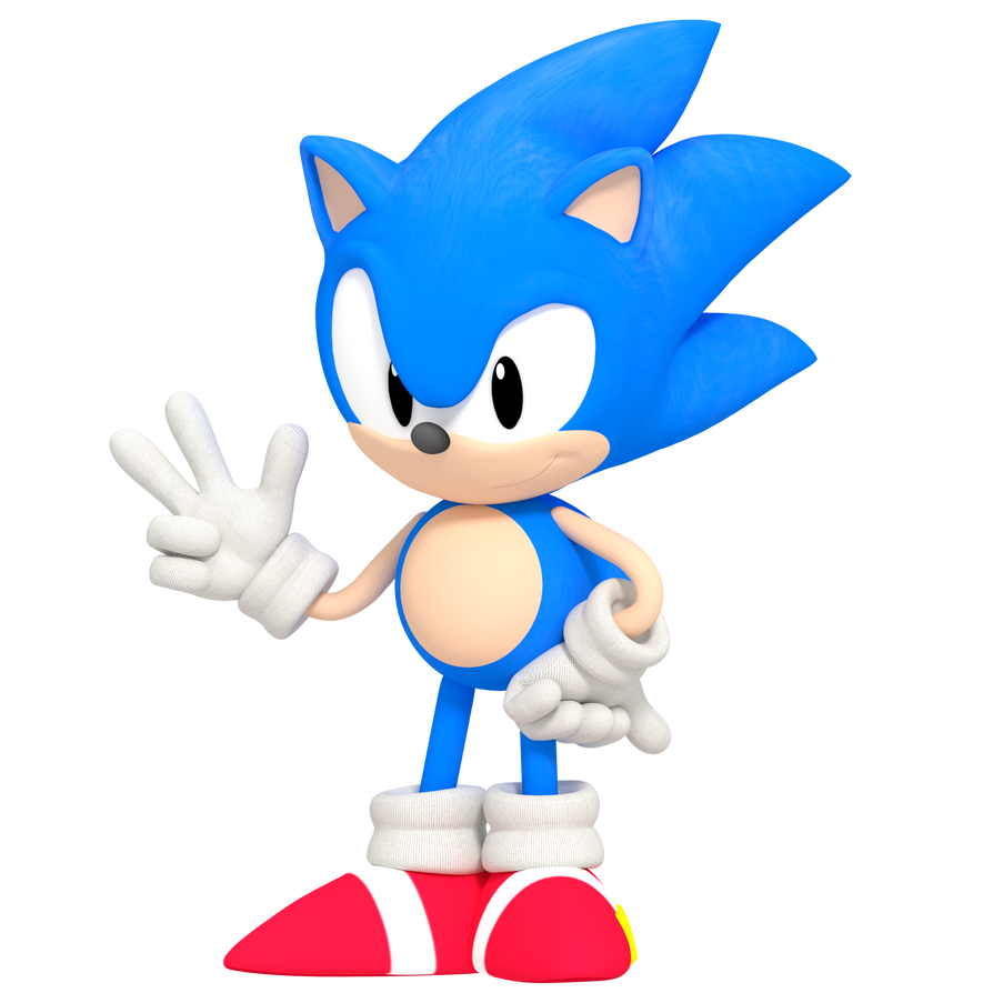 Classic Sonic OVA RENDER By MatiPrower On DeviantArt