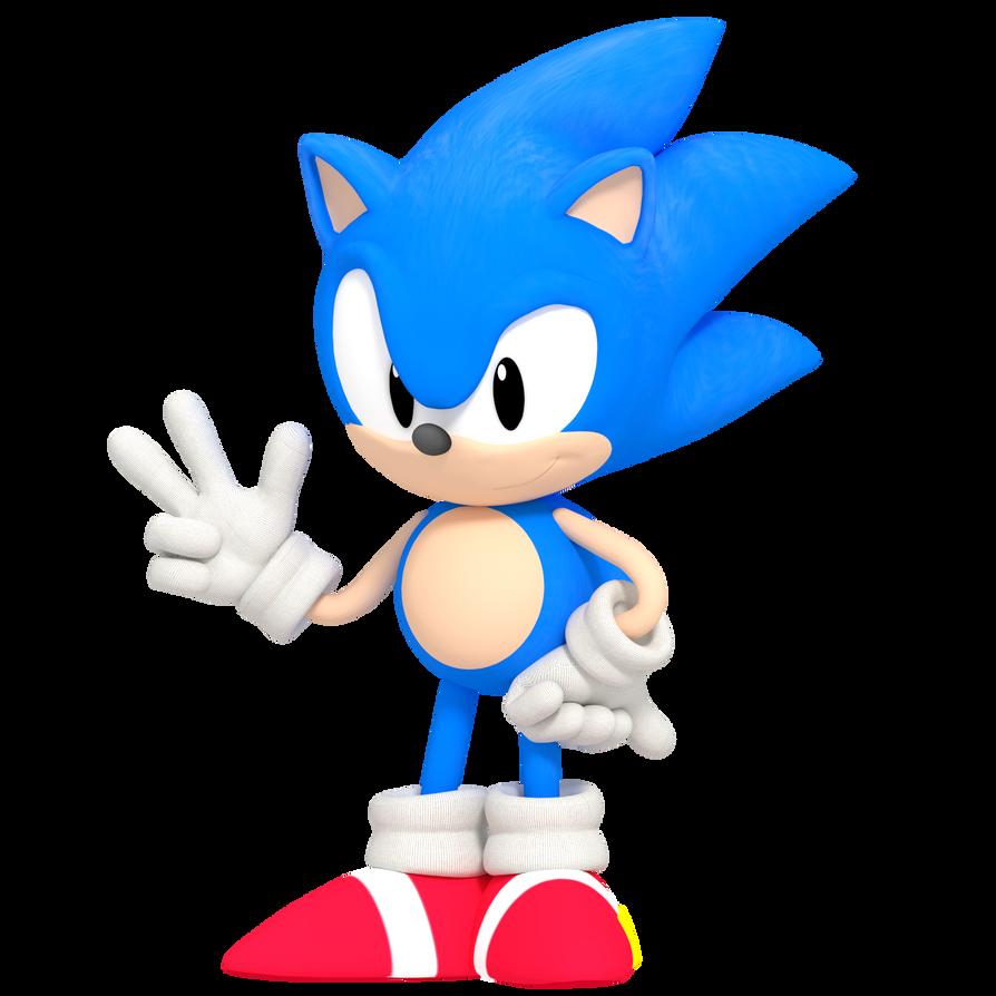 Classic Sonic OVA RENDER By MatiPrower On DeviantArt