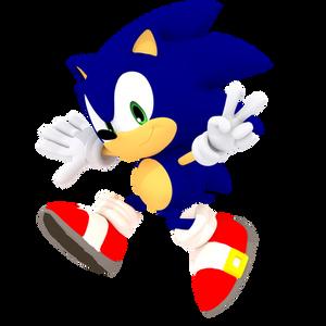 Classic Sonic MODERNIZED RENDER 2017