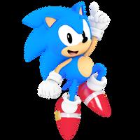 Classic Sonic MANIA RENDER 1/3
