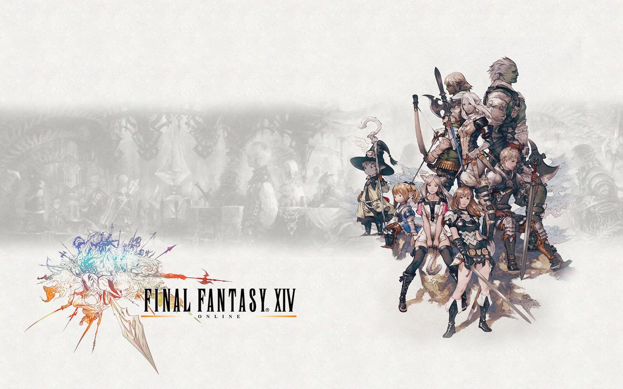 final fantasy xiv wallpaper i by hoiquai on deviantart