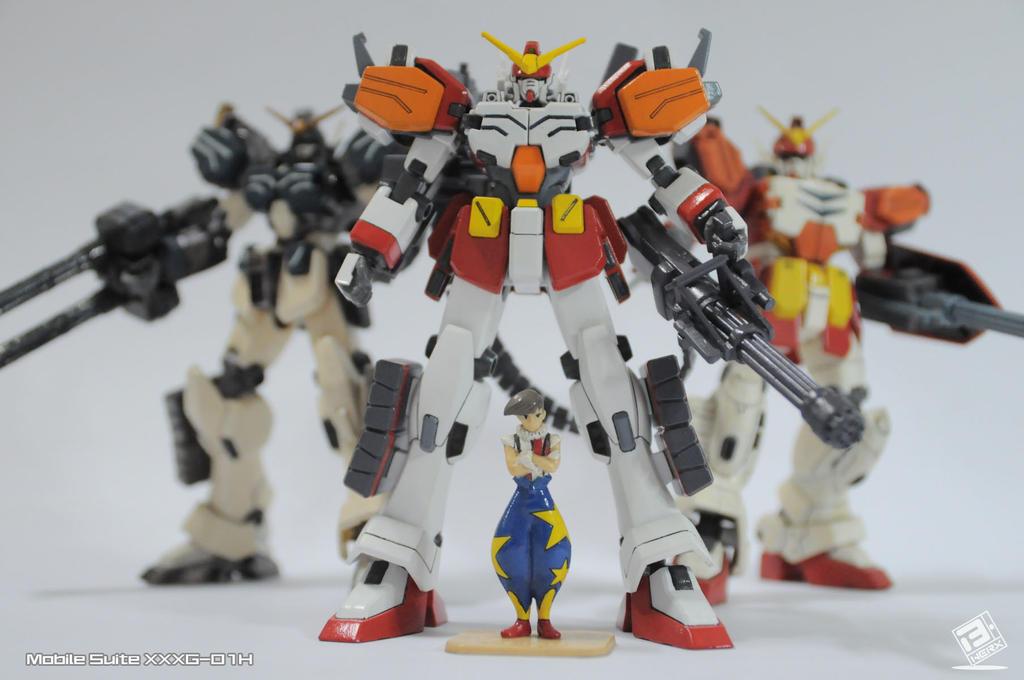 Gundam Heavy Arms GW kits by B-Werx