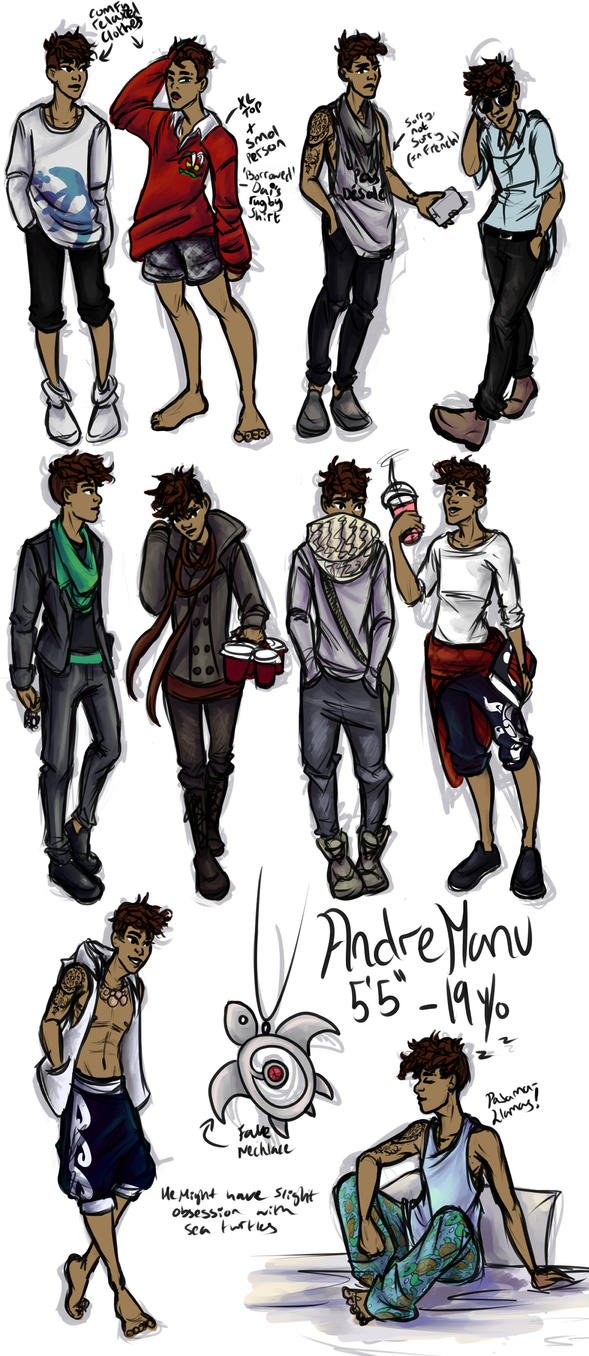 OC Outfit ideas - Andre - Fashion Your Life