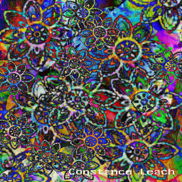 trippy flowers by lamblyn on deviantart