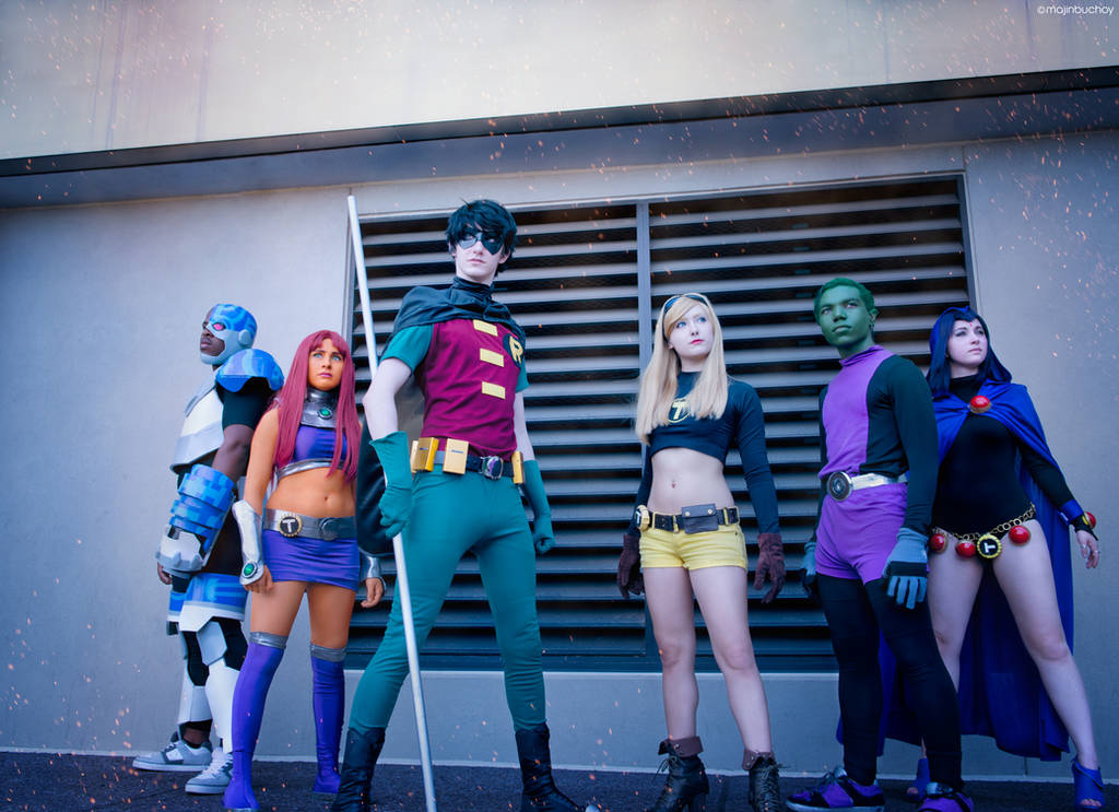 Teen Titans 01 by MajinBuchoy
