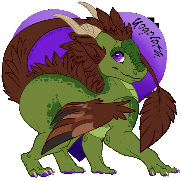 Doodly Dragon by yogoloth