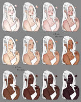 Skin color study