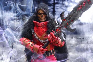 Warhammer FB Khorn Priest by Kirchos
