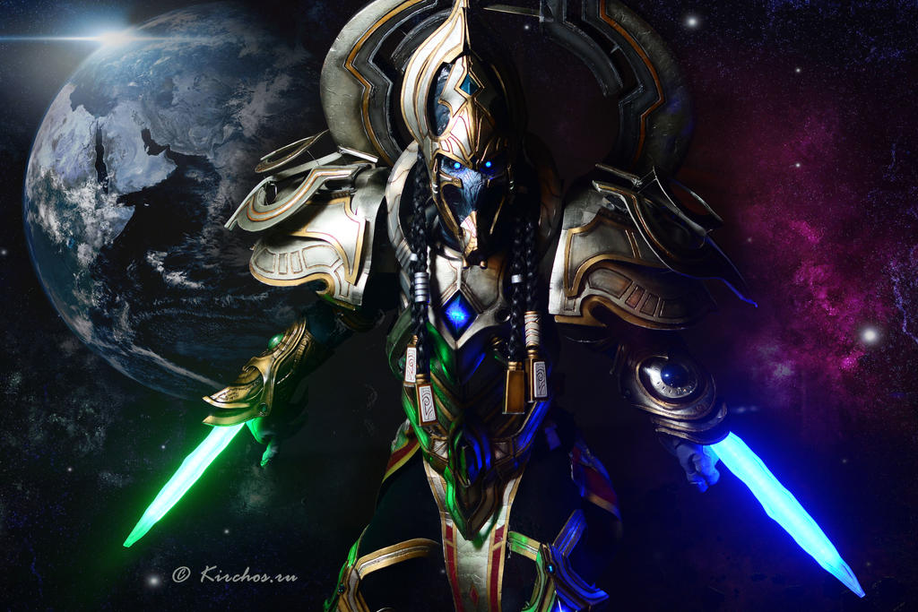 starcraft ii artanis by kirchos on deviantart