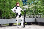 Starwars - Fem Stormtrooper