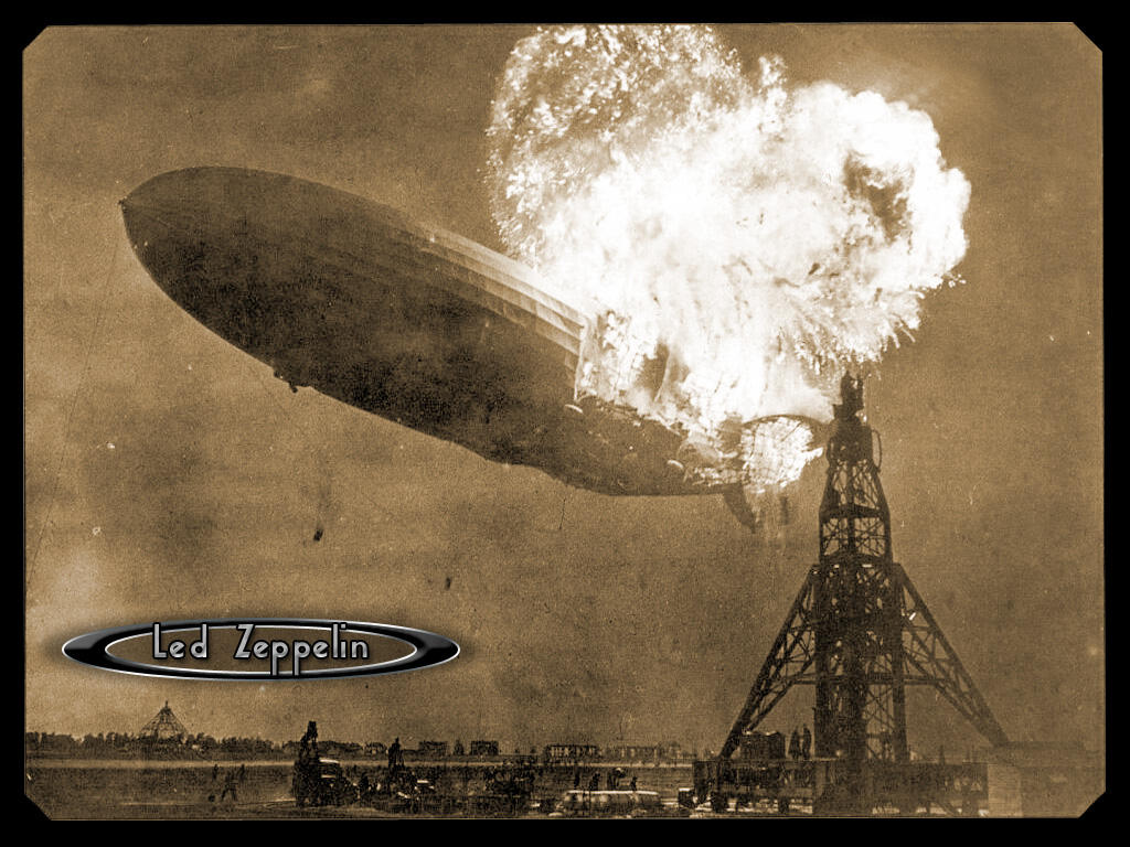 Led Zeppelin Hindenburgcrash By Quixotica On Deviantart