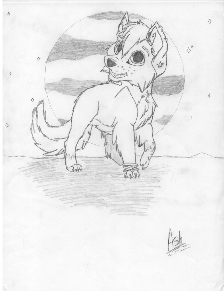 Anime Wolf Pup Drawings Anime Wolf Pup Drawings