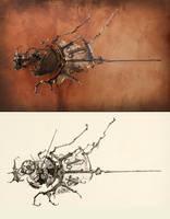 No.7 Sketch comparison by ericfreitas