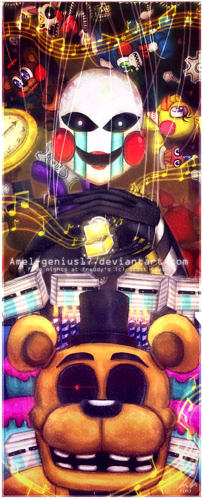 =FNAF melody and the puppet