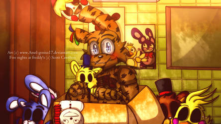 =Kawaii Contest= can i have this box? (Springtrap) by Amel-Genius17