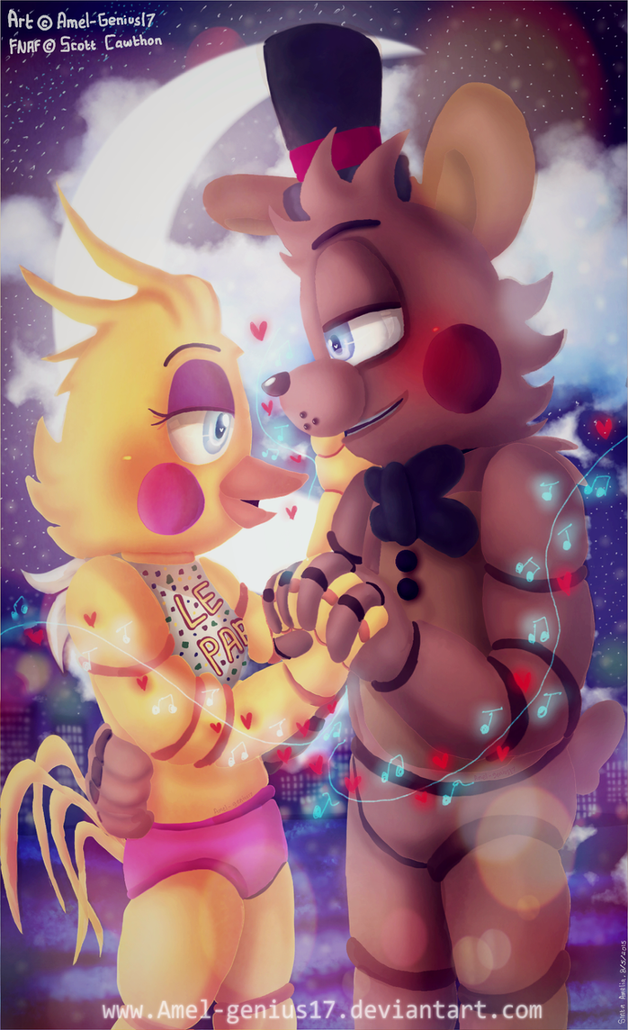 =FNAF= Our Song (Toy Freddica) (+SPEEDPAINT) by Amel-Genius17