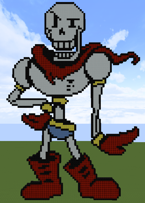 Minecraft - Papyrus by AkatzukoCobain on DeviantArt