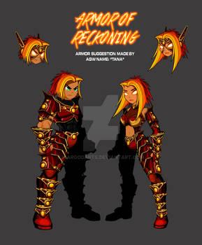 Armor OF Reckoning