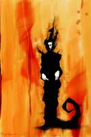 Sandman on a canvas by mongi