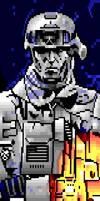 Battlefield 3 ANSI by mongi