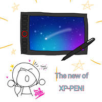 The new of xp-pen!