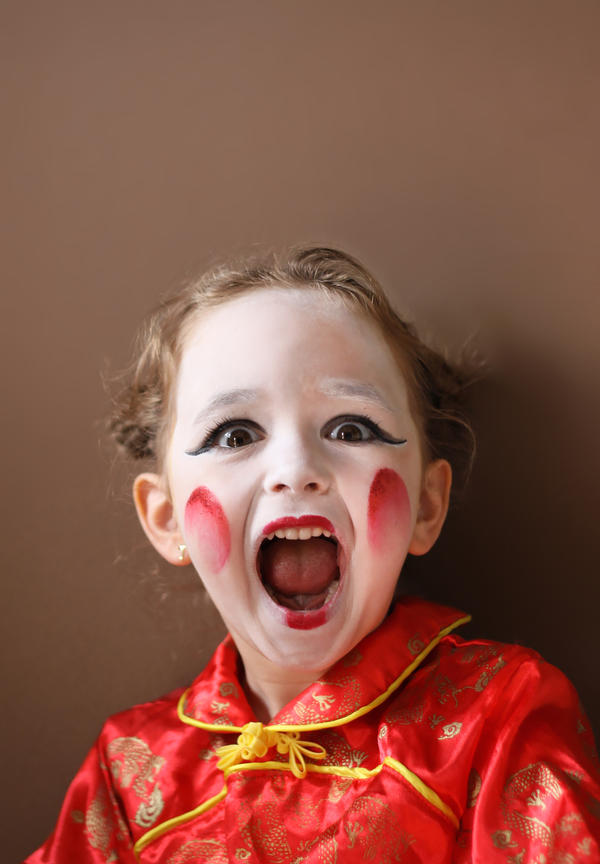 Funny Child Paint Face Trends 2012 Like