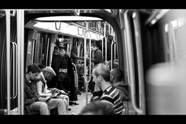 Daily life - 32 BATMAN by bLuesounet