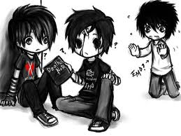 emo death note by chilli-con-carnage