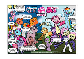 MLP: G1-3.5 Meets G4 (Redux) by Burning-Heart-Brony