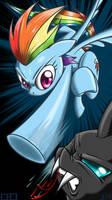 BHB Smartphone Wallpaper - Rainbow Punch