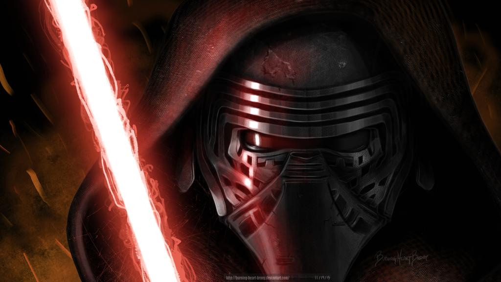[BHB] Star Wars: Kylo Ren Wallpaper by Burning-Heart-Brony