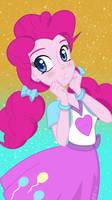 [MLP] - Pinkie Pie EQG Phone Wallpaper