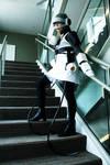 Portal cosplay: GLaDOS