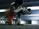 Portal 2 Cosplay: Chell