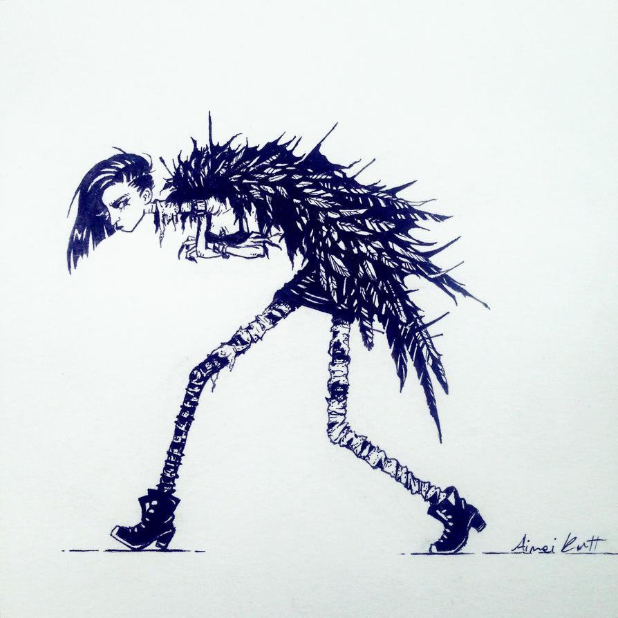 featherpunk by aiimeii