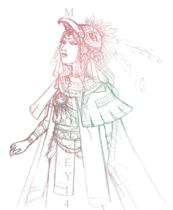 Xatu Gijinka Sketch by marimbamonkey14 on deviantART