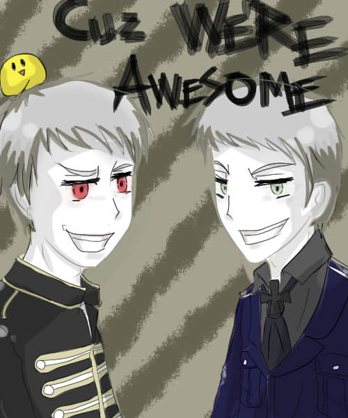 doodle: Cuz We're Awesome by Kurofer-Aldred