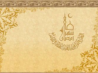 Islamic Wallpaper 2: Ramadan by t4m3r