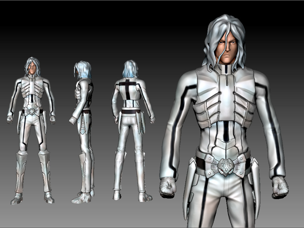 Character Design Study : Character design study by madkcmc on deviantart