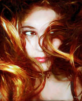 Princess Rie's Hair by jossif